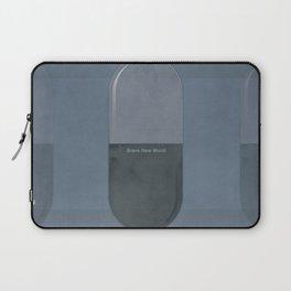 "Aldous Huxley ""Brave New World"" - Minimalist illustration literary design, bookish gift Laptop Sleeve"