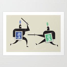 En Garde! Art Print