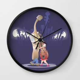 Slow Dance Wall Clock