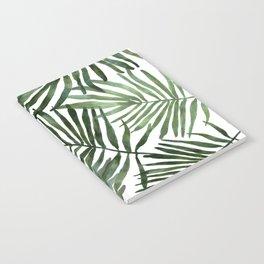 Watercolor simple leaves Notebook