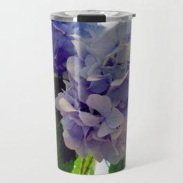 Hydrangea Bouquet Travel Mug