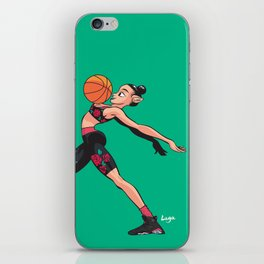 CoolNoodle and AirJordan6 Playoffs iPhone Skin