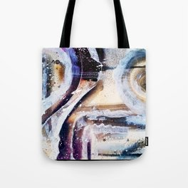 """Movement Study 4/ Warm "" - Abstract Series/Fall 2016 Tote Bag"