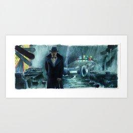 Blade Runner - Gaff Art Print