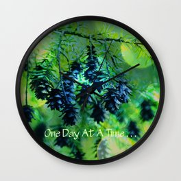 One Day At A Time . . . Wall Clock