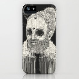 HOLLOWED MAN iPhone Case
