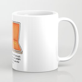 New York City Subway Thoughts Coffee Mug