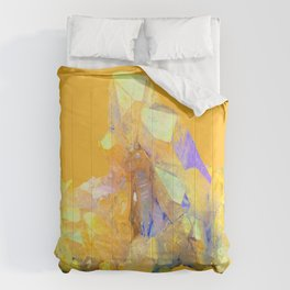 YELLOW QUARTZ CRYSTAL GOLDEN COLOR DESIGN Comforters
