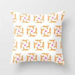 Royal Shiba Throw Pillow