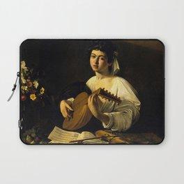 "Michelangelo Merisi da Caravaggio ""The Lute Player"" Laptop Sleeve"