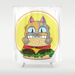 Can Haz Cheezburger! Shower Curtain