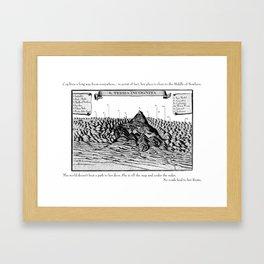 Terra Incognita Framed Art Print