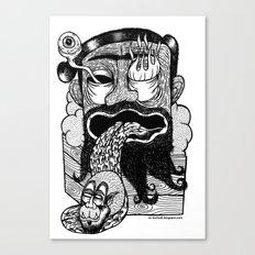 bruno is my enemy Canvas Print