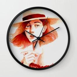 French Beauty Wall Clock