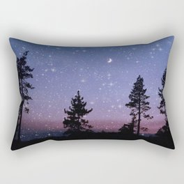 Twilight Forest Rectangular Pillow