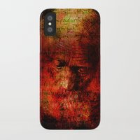 marc iPhone & iPod Cases featuring Marc Aurèle's murder by Joe Ganech