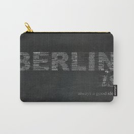 BERLIN is Carry-All Pouch