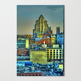 Montreal City II Canvas Print
