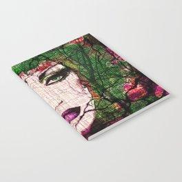 Forest Goddess by Lika Ramati Notebook