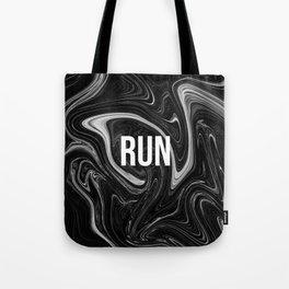 abstract liquid XXII - 22 - RUN Tote Bag