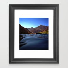 Deep in the Grand Canyon Framed Art Print