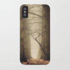 Quiet iPhone X Slim Case