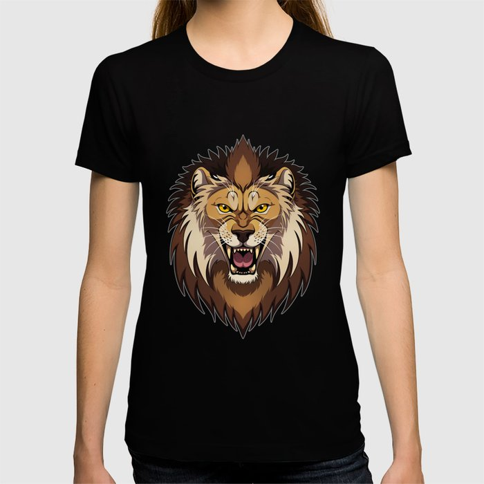Lion's head T-shirt
