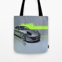 Porsche 911 Digital Painting   Automotive   Car Tote Bag