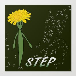Dandeliono Character poster (STEP) Canvas Print