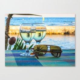 Summer still life Canvas Print