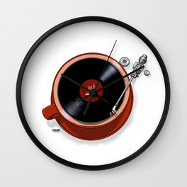 Java Jazz Wall Clock