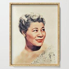 Ella Fitzgerald, Music Legend Serving Tray