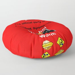 Government of the Racist (G. O. P.) Floor Pillow