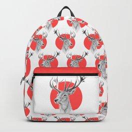 Deer | red Backpack