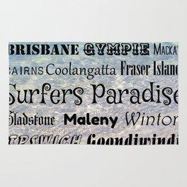 Queensland Poster Rug