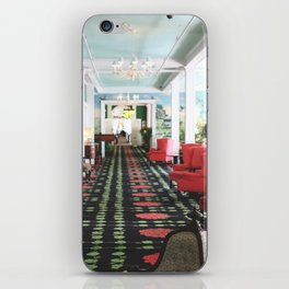 inside the Grand Hotel iPhone Skin