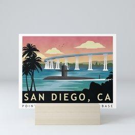 San Diego, CA - Submarine Homeport Mini Art Print