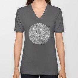 Black Constellation Unisex V-Neck