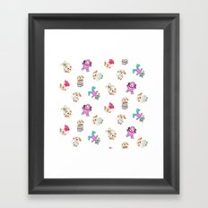 Pup Power Framed Art Print