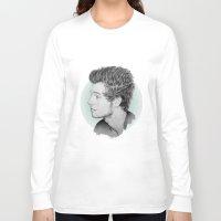 luke hemmings Long Sleeve T-shirts featuring Luke by Drawpassionn