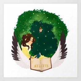 Katherine Circlet Art Print