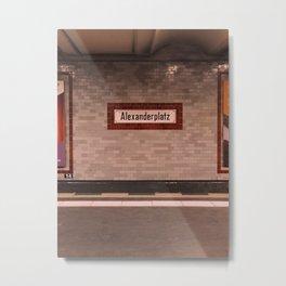 BERLIN SPIRIT - 3 Metal Print
