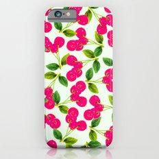 Cherry Picking #society6 #decor #buyart iPhone 6 Slim Case