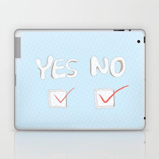 Yes No Laptop & iPad Skin