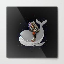 Above and beyond outer space Metal Print