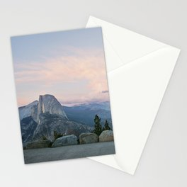 Half Dome at Sunset Stationery Cards