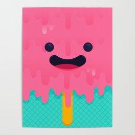 ice cream melty Poster