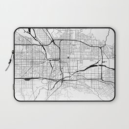 Map of the City Neck Gaiter San Bernardino California Map Neck Gator Laptop Sleeve