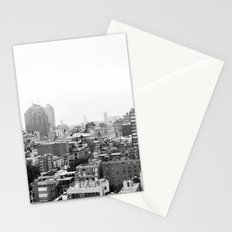 Lower East Side Skyline #3 Stationery Cards