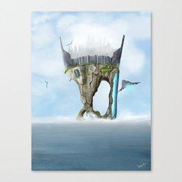 Last Island Canvas Print